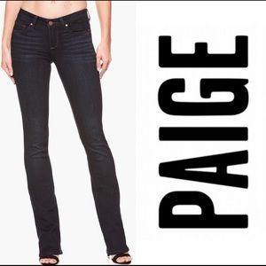 PAIGE JEANS 'Manhattan' Sz 25 Super Slim Bootcut